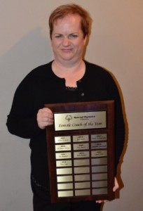Female Coach of the Year: Tina Copp
